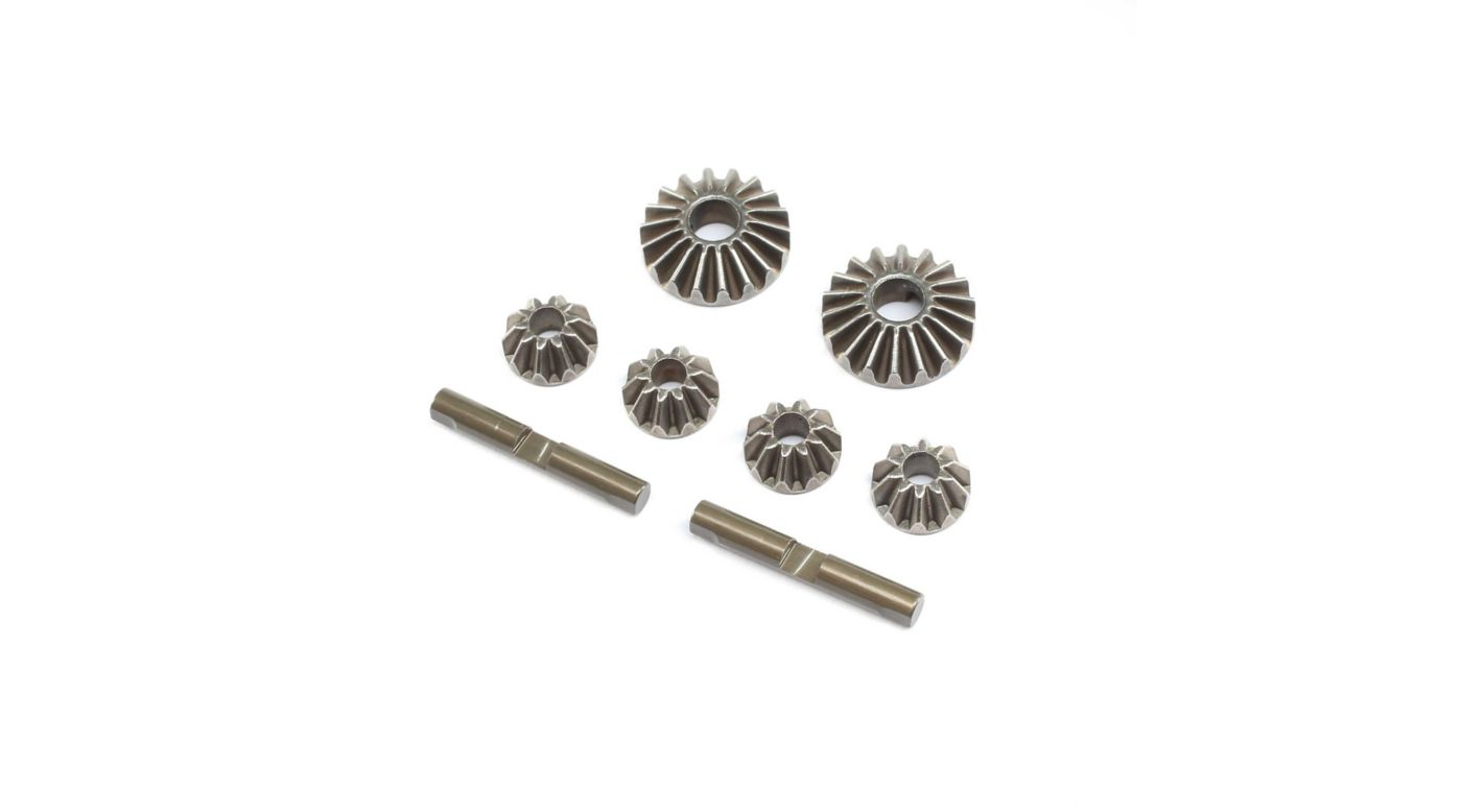 Image for Diff Gear & Cross Pin Set Metal: 22X-4 from HorizonHobby