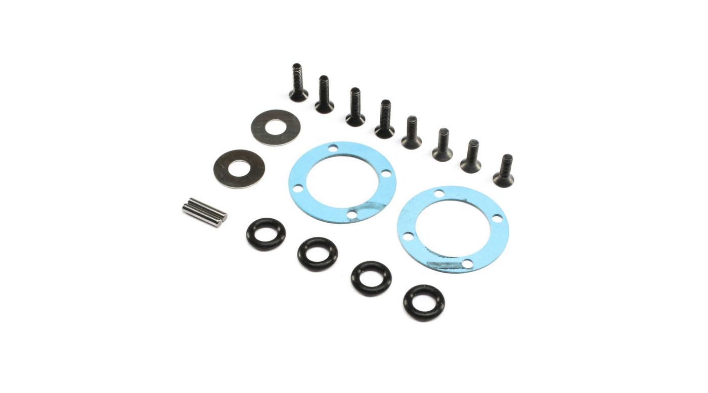 Image for Diff Seal & Hardware Set: 22X-4 from HorizonHobby