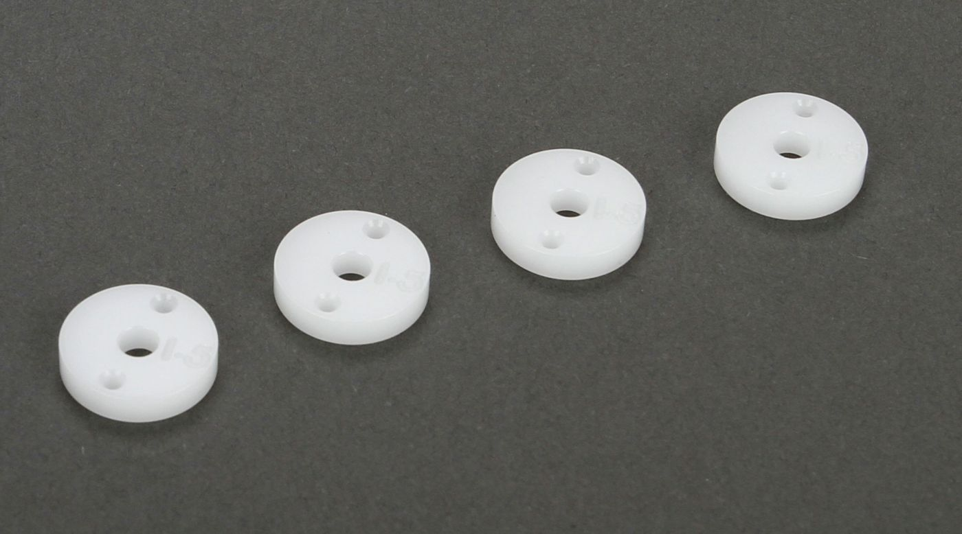 Image for Shock Piston 12mm, 1.5x2, CNC Machined (4): All 22, SCTE from HorizonHobby