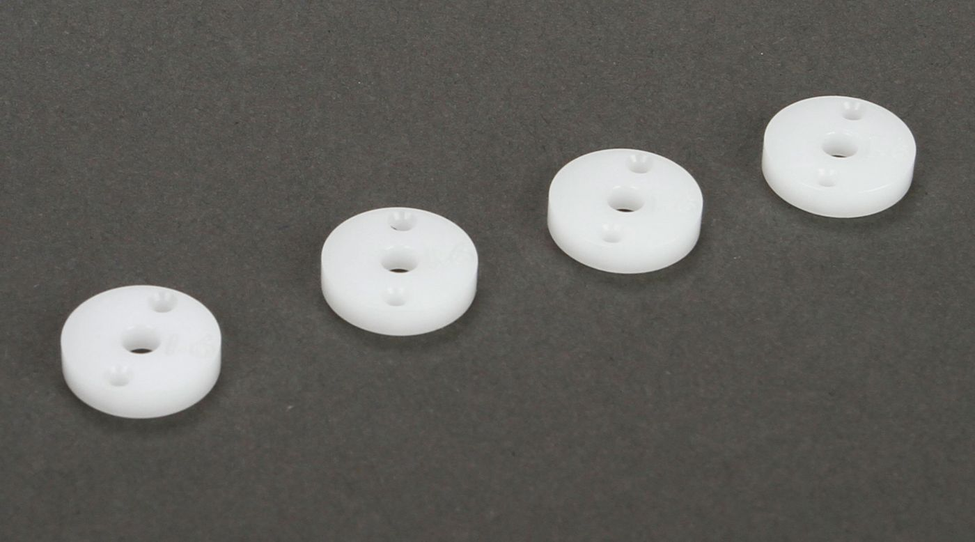 Image for Shock Piston 12mm, 1.6x2, CNC Machined (4): All 22, SCTE from Horizon Hobby