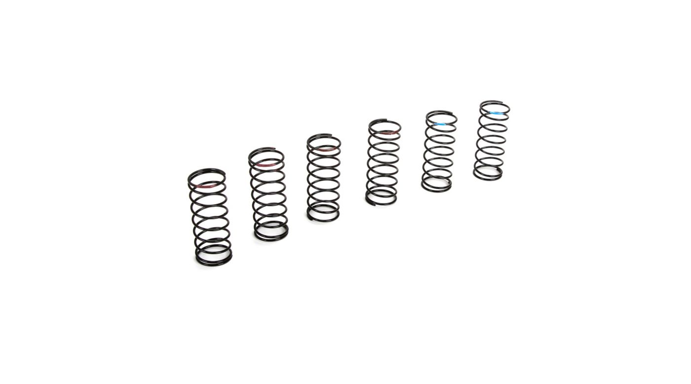 Image for Front Spring Set, Hard (3 pair): 22T/SCT/ 22-4/SCTE with 22 Shock Conversion from HorizonHobby