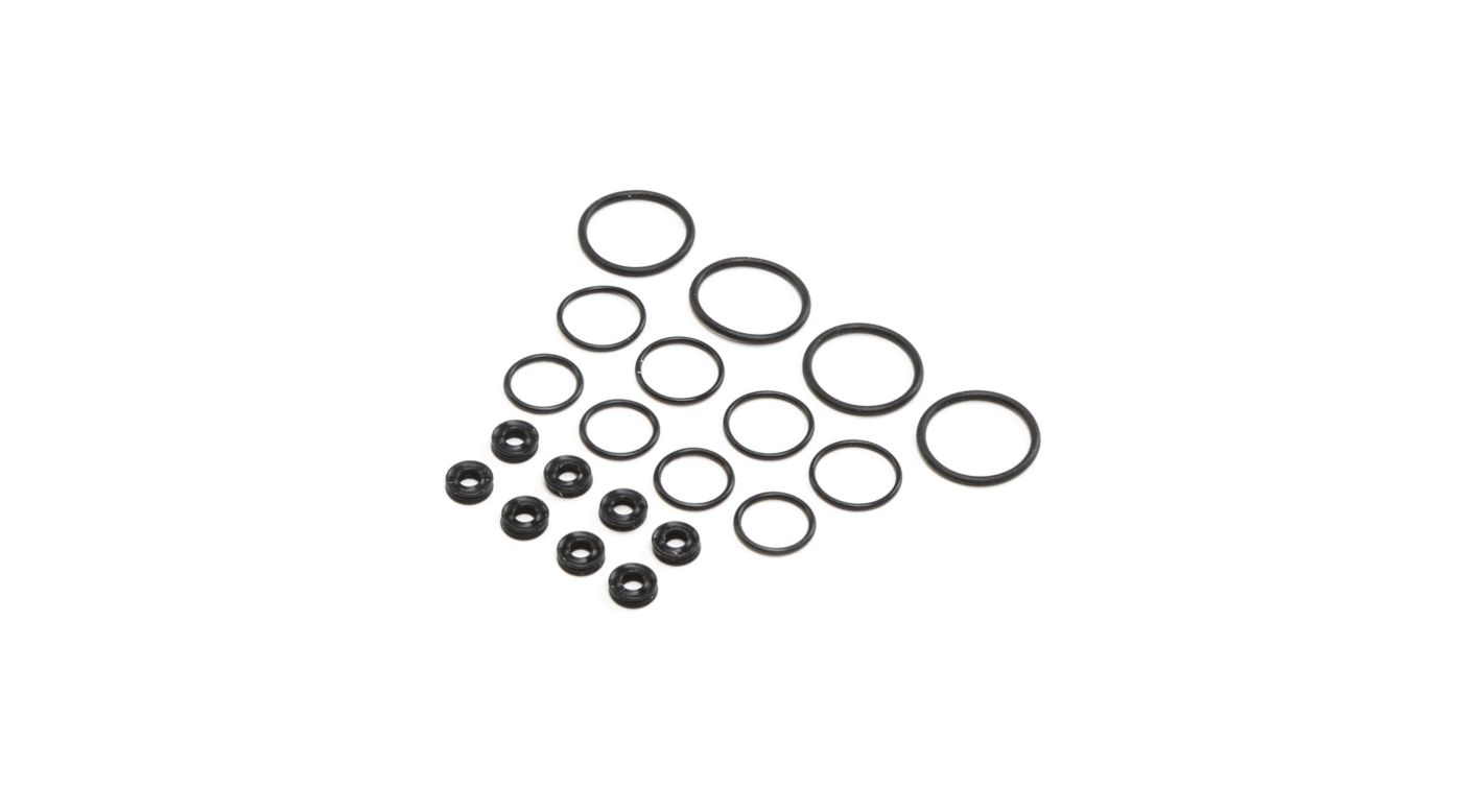 Image for Seal Set X-Rings, G3 (4 shocks) from HorizonHobby