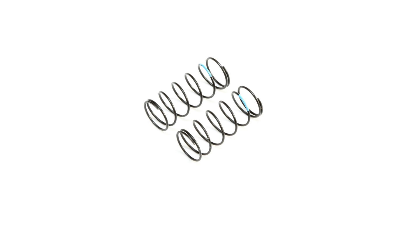 Image for Front Springs, Sky Blue, Low Frequency 12mm (2) from HorizonHobby