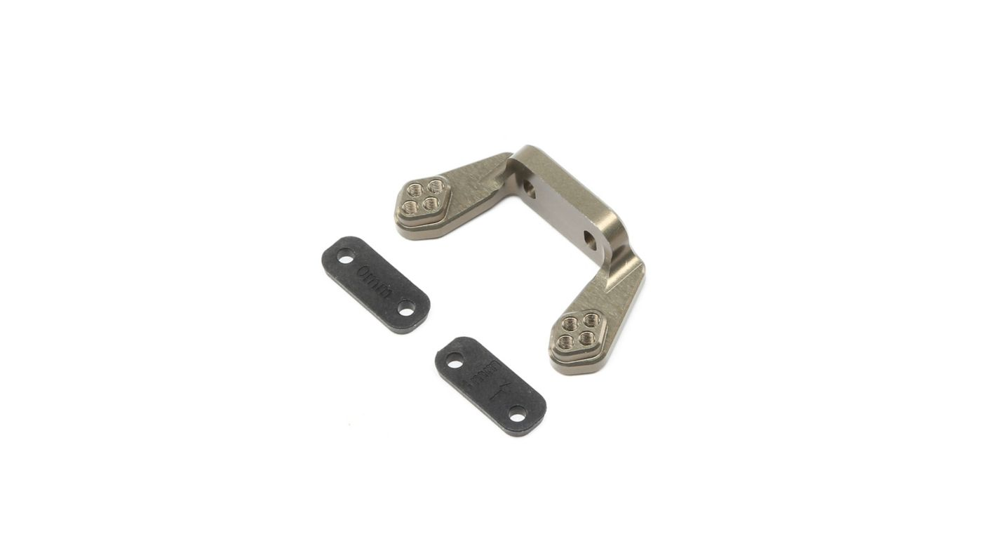 Image for Rear Camber Block w Inserts  22 4.0 from HorizonHobby