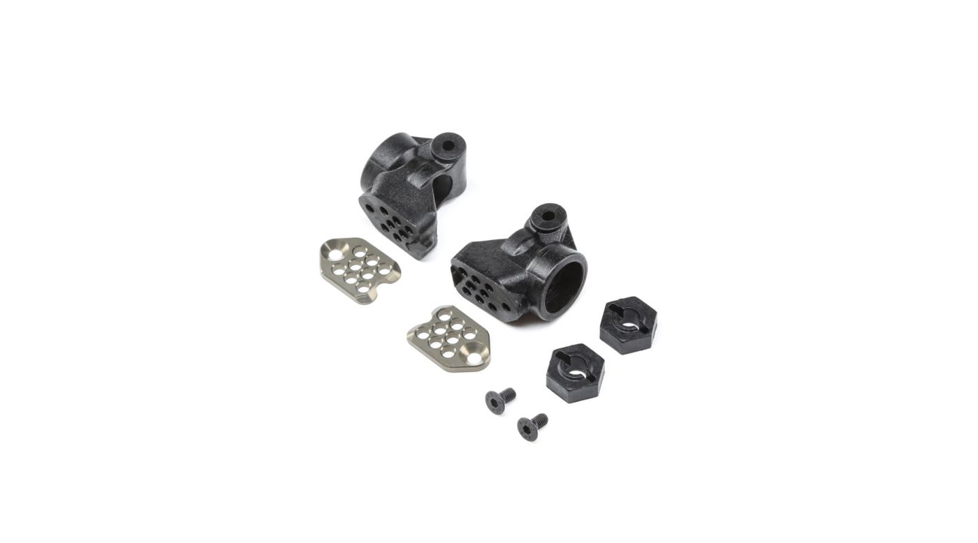 Image for GenII Rear Hub Set, +3mm: All 22 from HorizonHobby