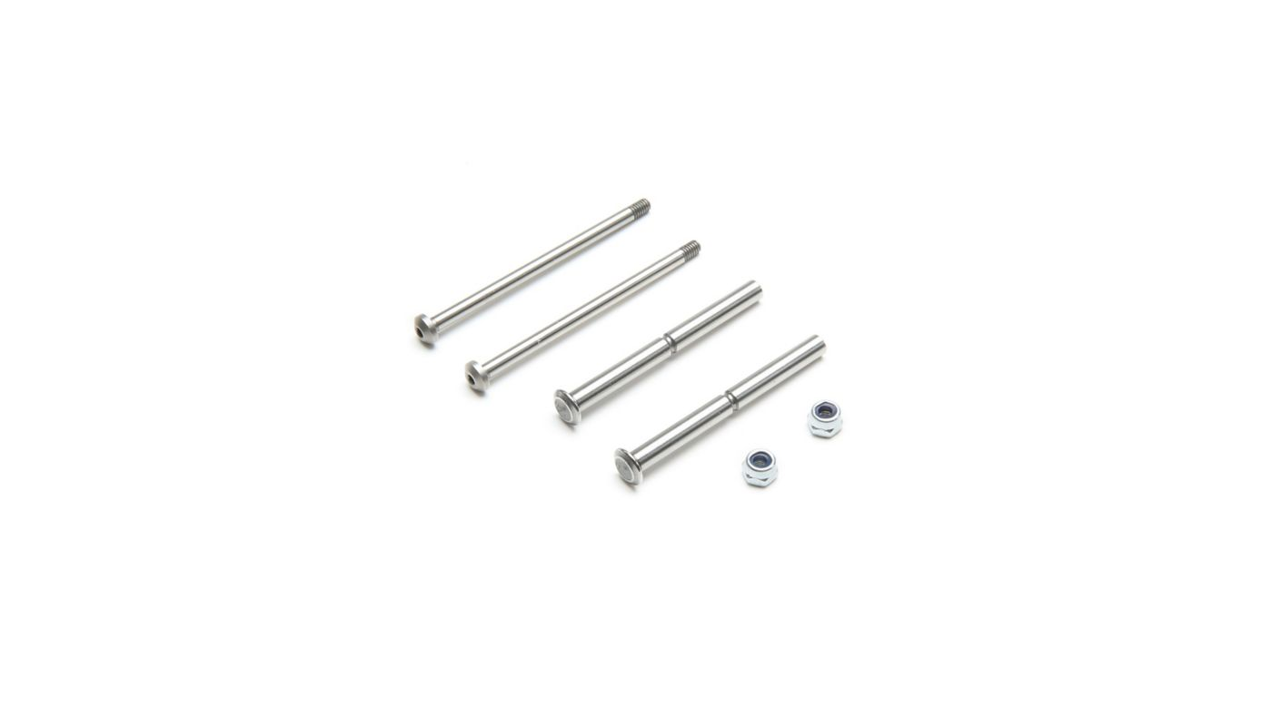 Image for Front Hinge Pin and King Pin Set, Polished: All 22 from HorizonHobby