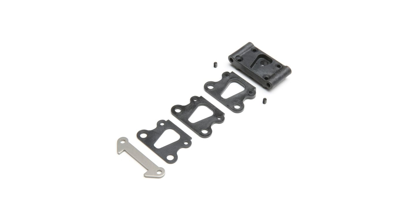 Image for Front Pivot with Brace & Kick Shims: All 22 from HorizonHobby