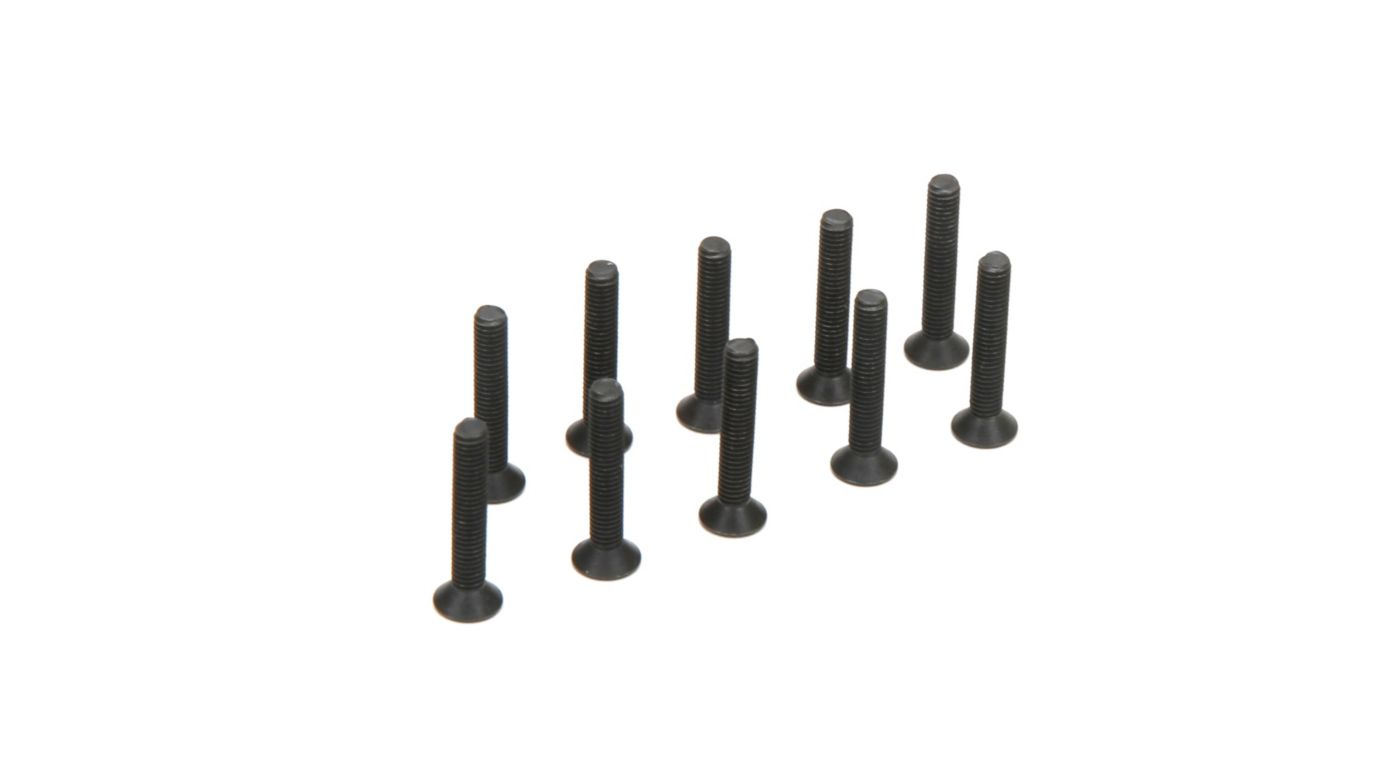 Image for Flat Head Screws, M3 x 18mm (10) from Horizon Hobby