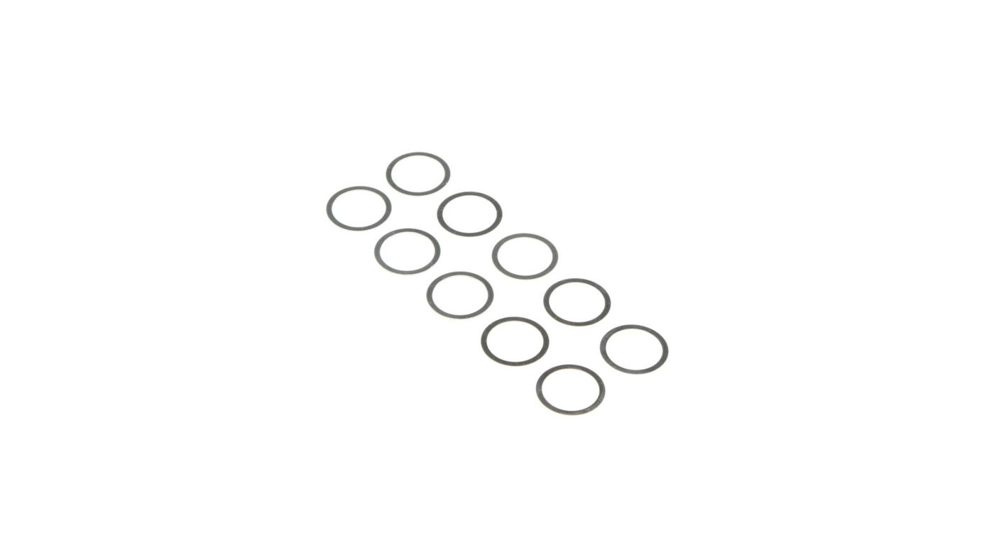 Image for 10 x 14mm Shims, 0.1mm and 0.2mm (5 each) from HorizonHobby