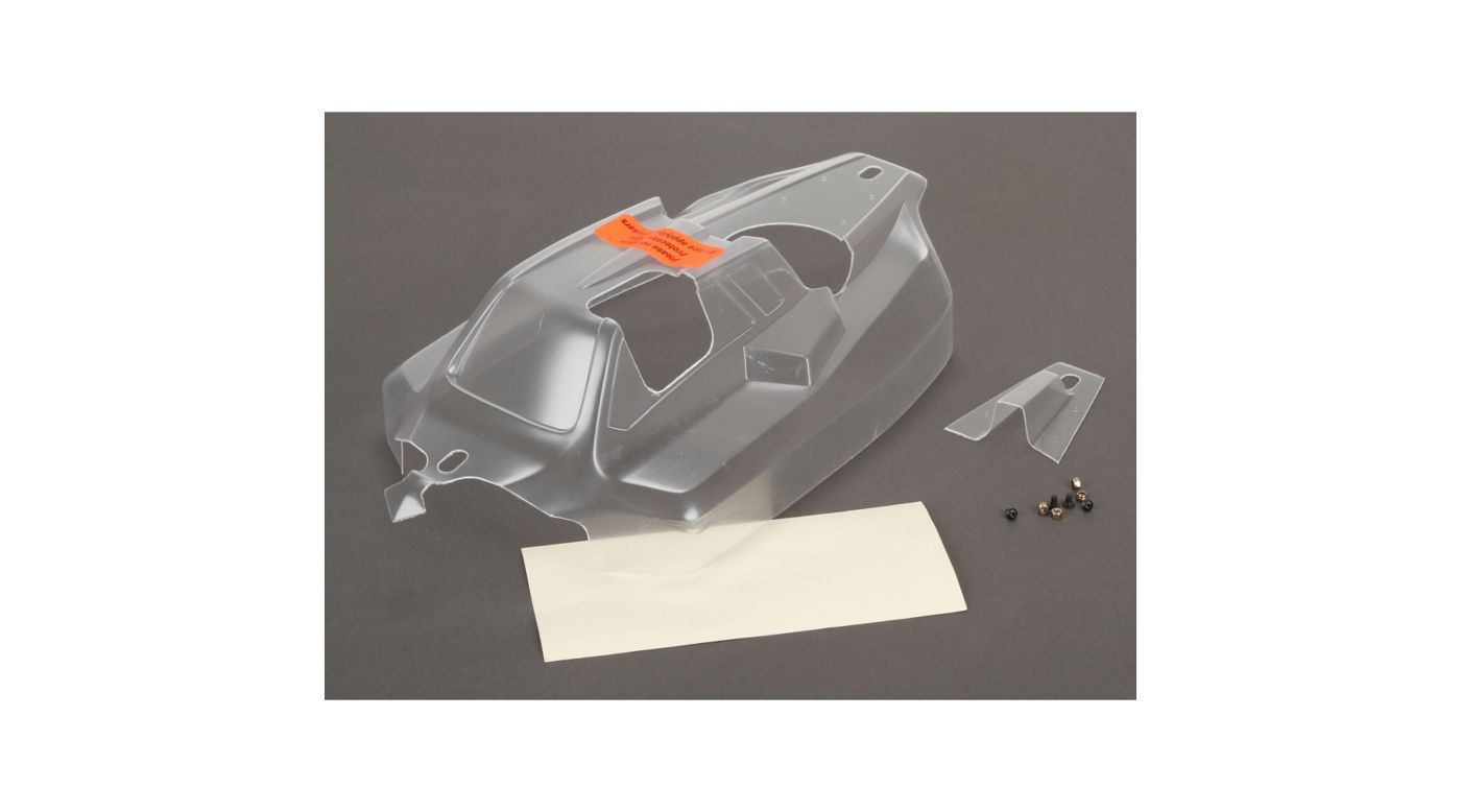 Image for 1/8 Cab Forward Clear Body: 8IGHT 4.0 from HorizonHobby