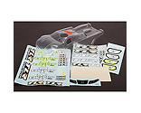 Team Losi Racing - 1/8 Clear Body Set: 8T 3.0 & 4.0