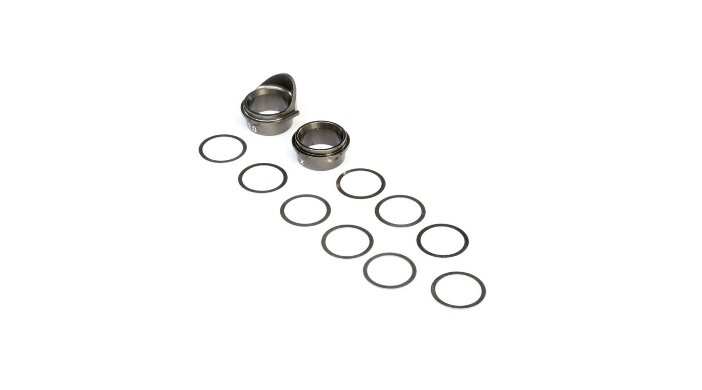 Image for Rear Gearbox Bearing Inserts Aluminum: 8X, 8XE from Horizon Hobby