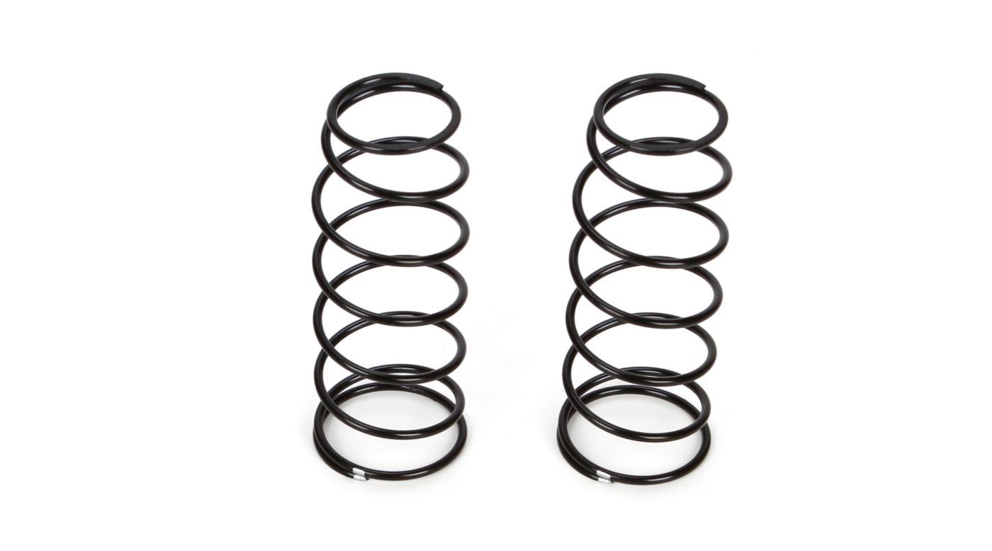 Image for 16mm Front Shock Spring, 4.6 Rate, Silver (2): 8B 3.0 from HorizonHobby