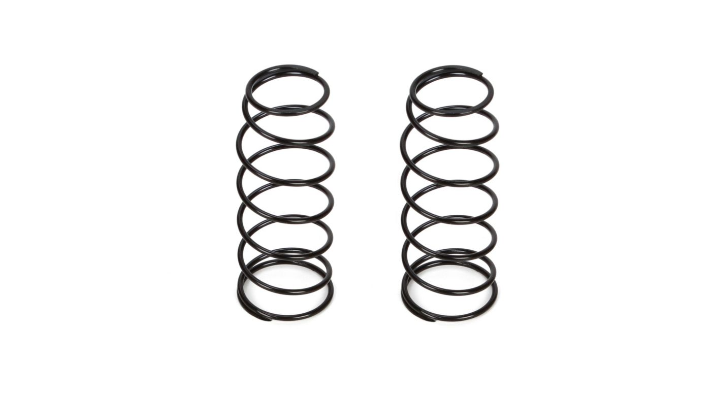 Image for 16mm Front Shock Spring, 5.0 Rate, Black (2): 8B 3.0 from HorizonHobby