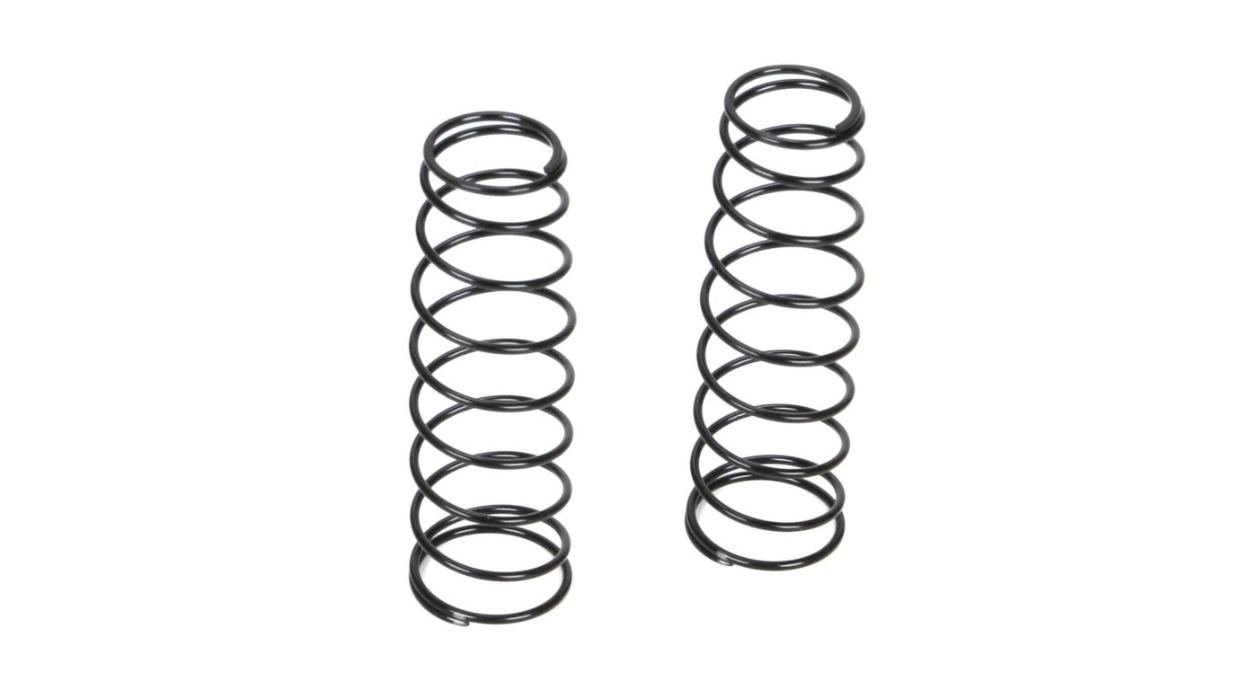 Image for 16mm Rear Shock Spring, 3.6 Rate, Silver (2): 8B 3.0 from HorizonHobby