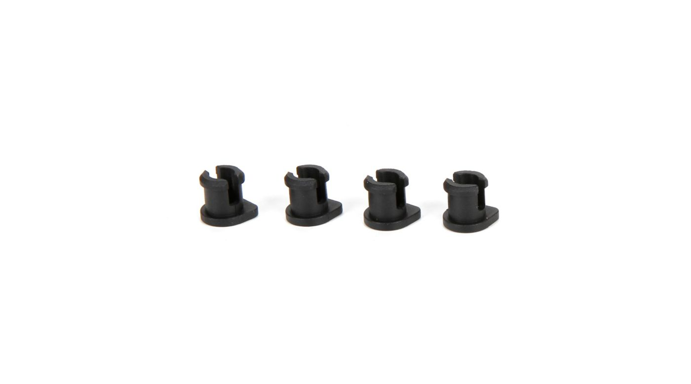 Image for Shock Cap Bushing (4): 8T 4.0 from HorizonHobby