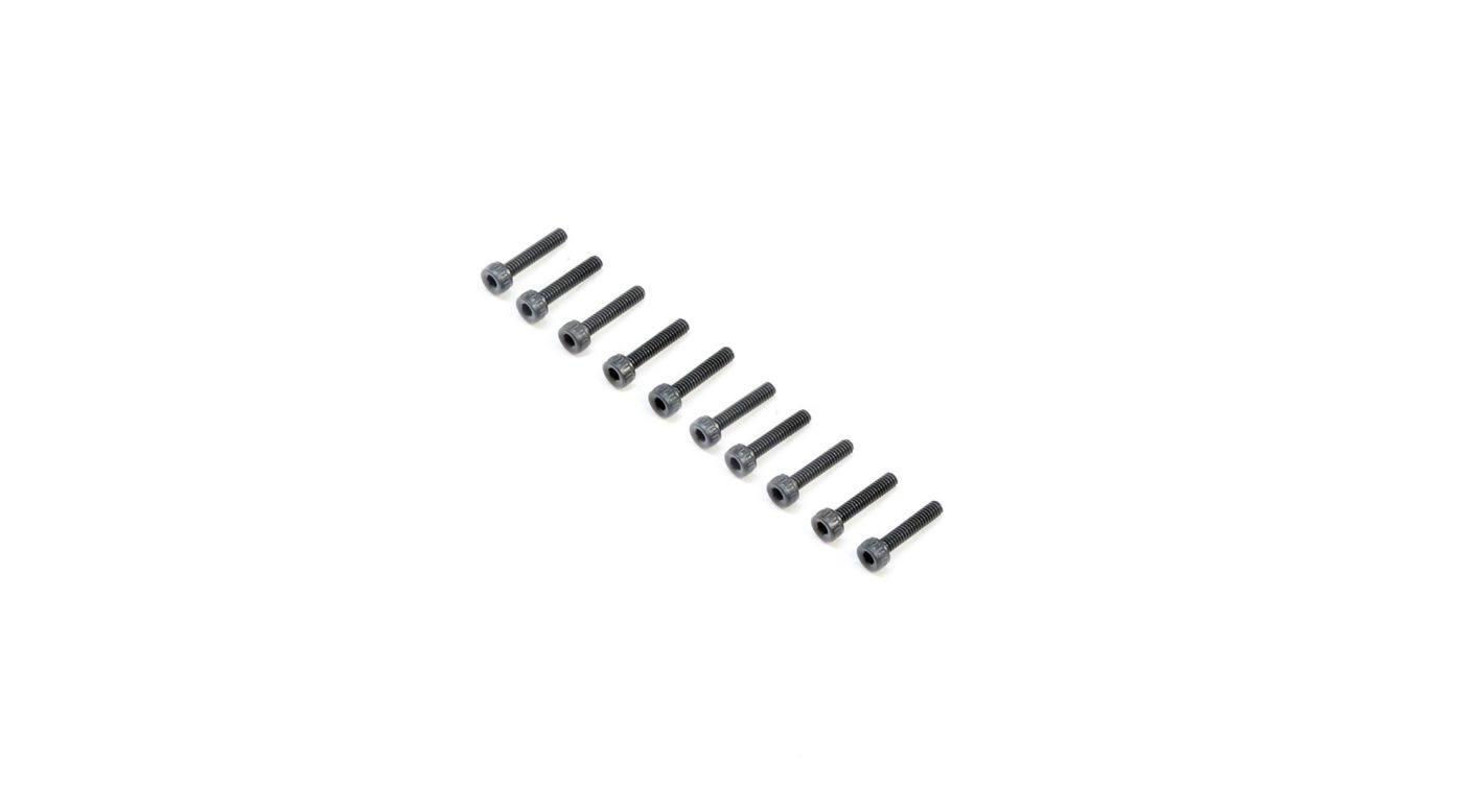 Image for Cap Head Screws M2x10mm (10) from Horizon Hobby