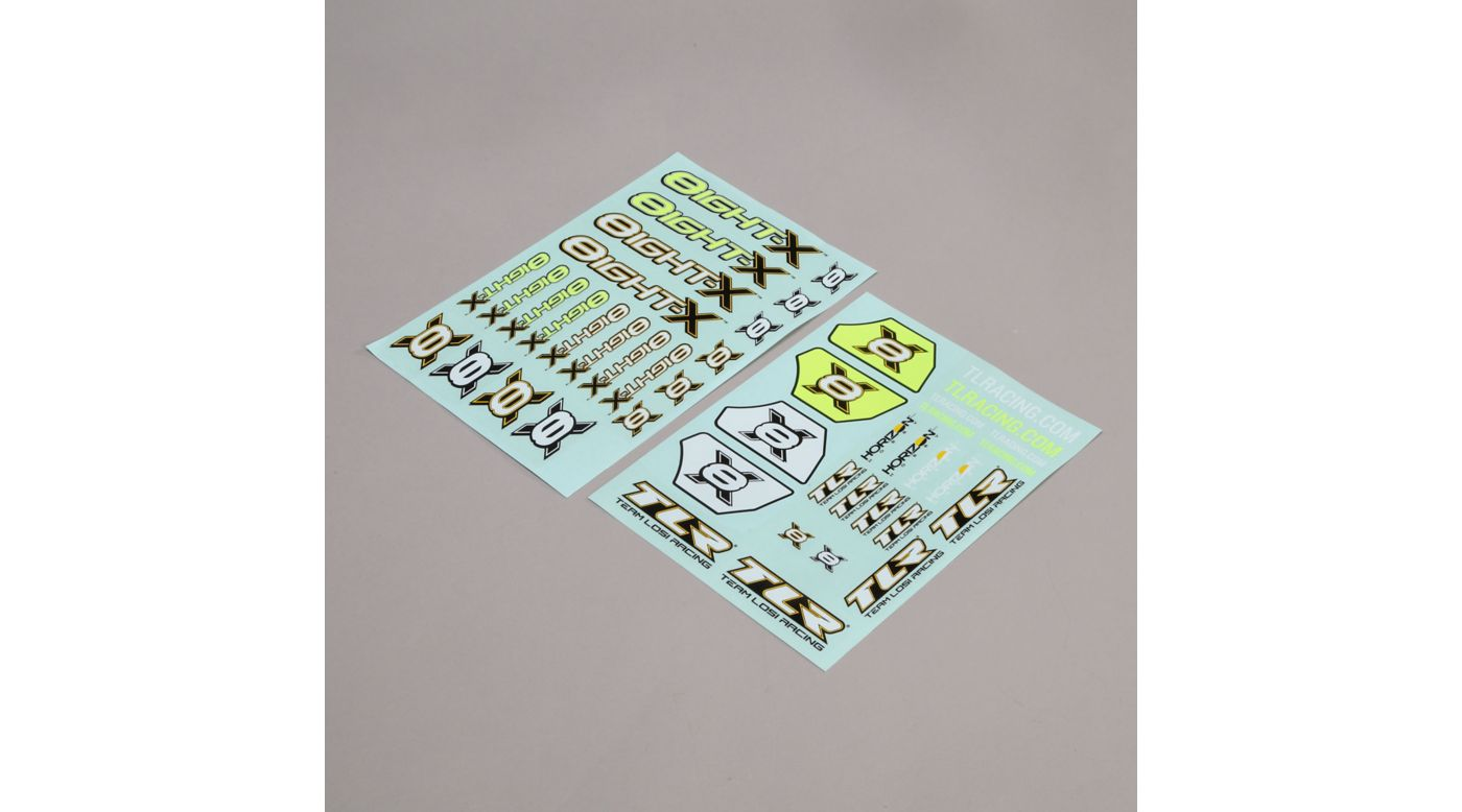 Image for Logo Sheet: 8IGHT-X from HorizonHobby