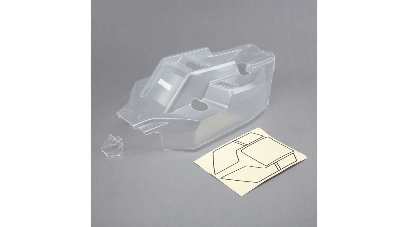 Image for 1/5 Clear Body with Window Mask: 5IVE-B from HorizonHobby