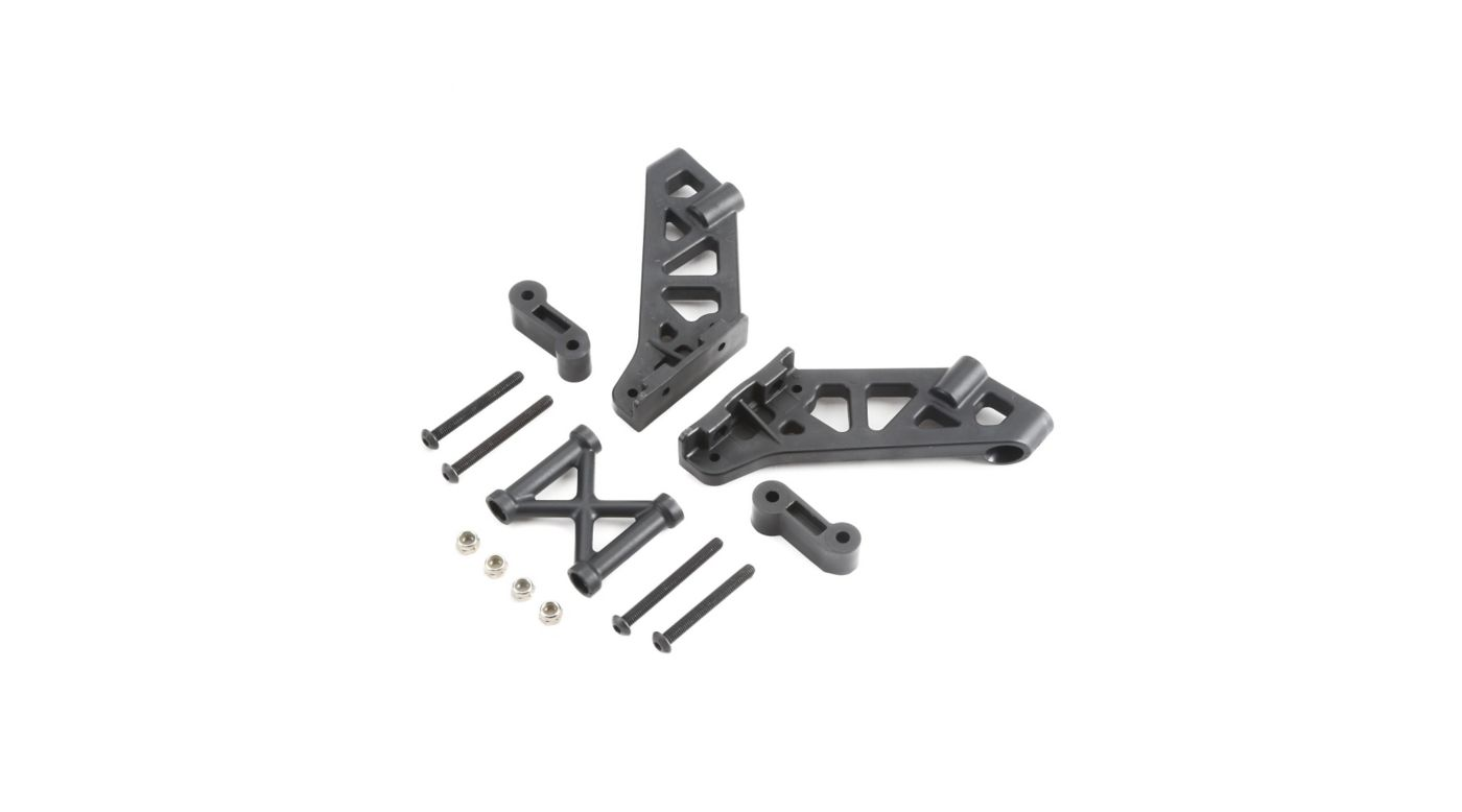 Image for Left and Right Wing Mount Brace and Spacer: 5IVE B from HorizonHobby