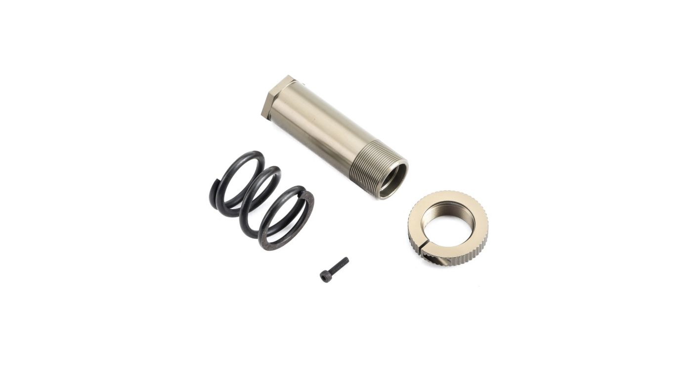 Image for Servo Saver Tube Spring and Adjuster: 5IVE B, 5T, MINI WRC from HorizonHobby