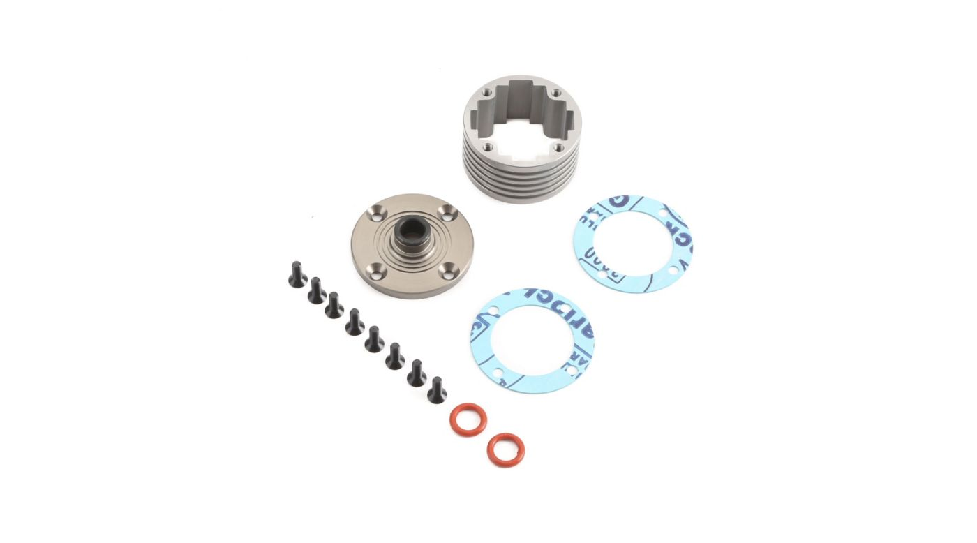 Image for Diff Housing Set Aluminum (1): 5B, 5T, MINI WRC from HorizonHobby
