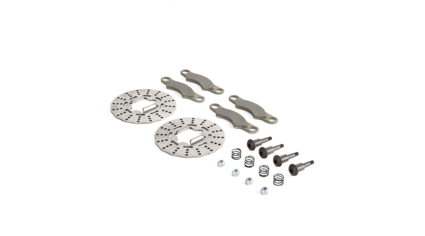 Image for Brake Disc Pad and Screw Set: 5B, 5T, MINI WRC from HorizonHobby