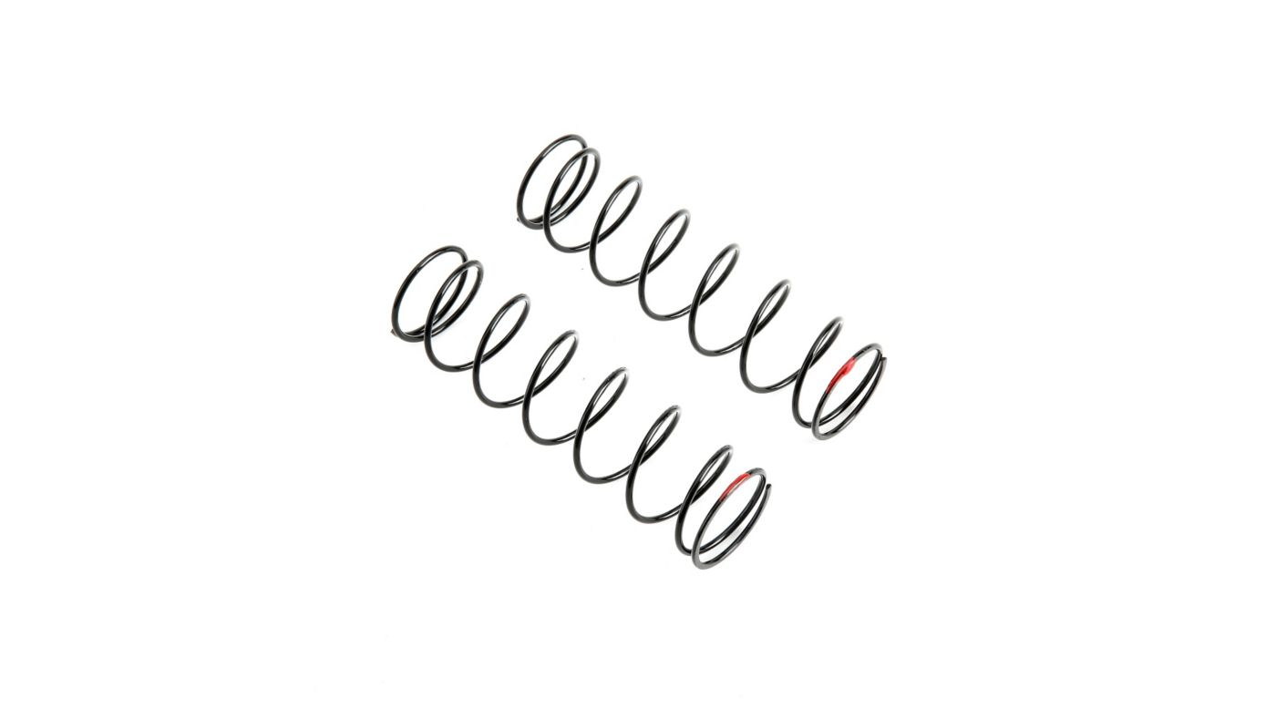 Image for Rear Shock Spring, 6.1 lb Rate, Red: 5IVE B from HorizonHobby