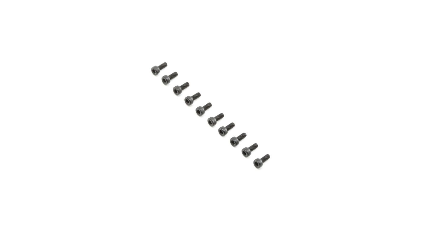 Image for Cap Head Screws M2.5x6mm (10) from HorizonHobby