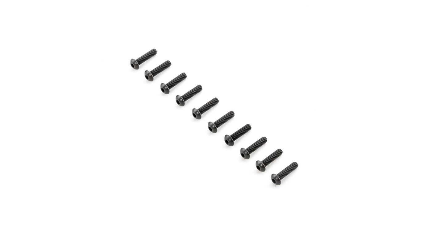 Image for Button Head Screws M4x16mm (10) from HorizonHobby