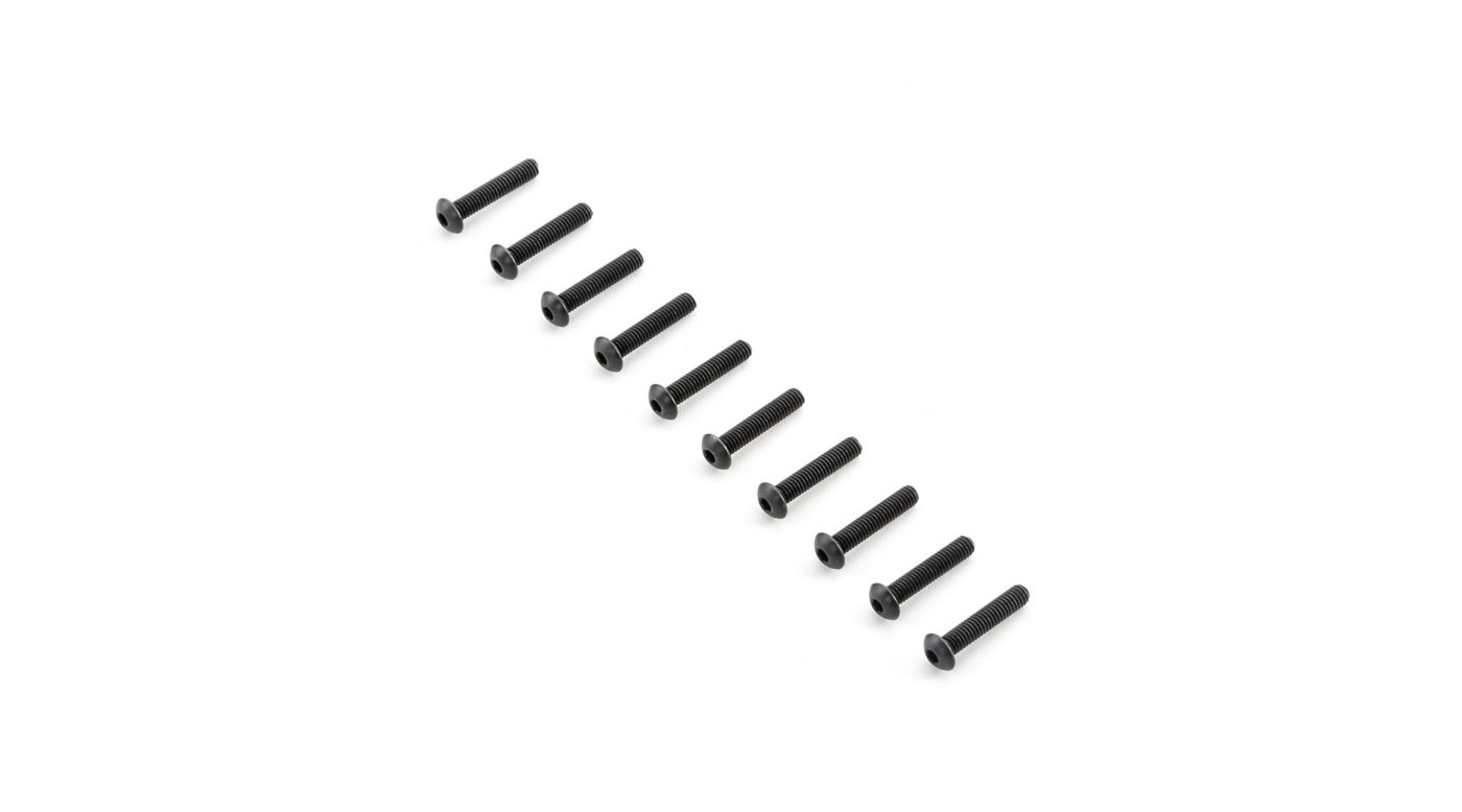 Image for Button Head Screws M4x20mm (10) from HorizonHobby