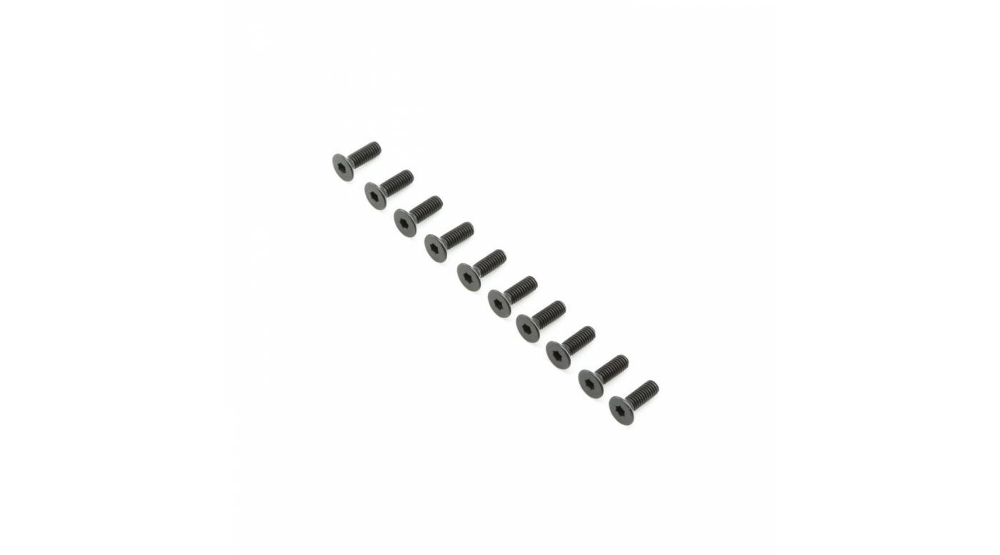 Image for Flat Head Screws M4x12mm (10) from Horizon Hobby