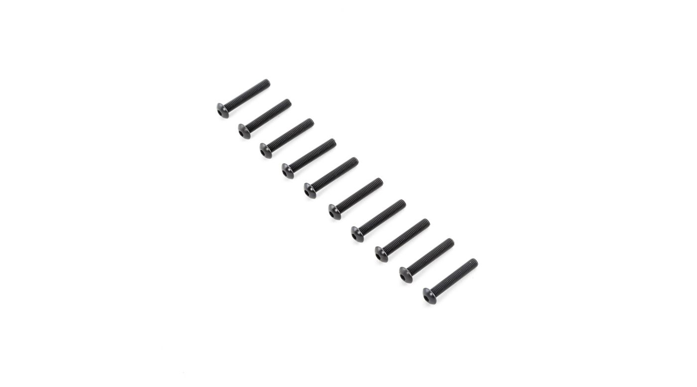 Image for Button Head Screws M5x30mm (10) from HorizonHobby