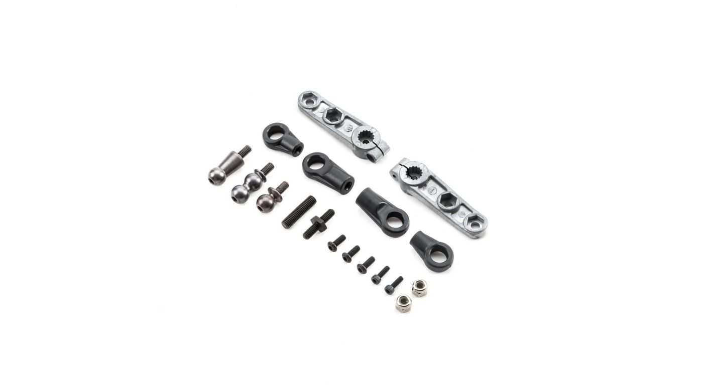 Image for Steering Linkage Set: 5IVE B from HorizonHobby