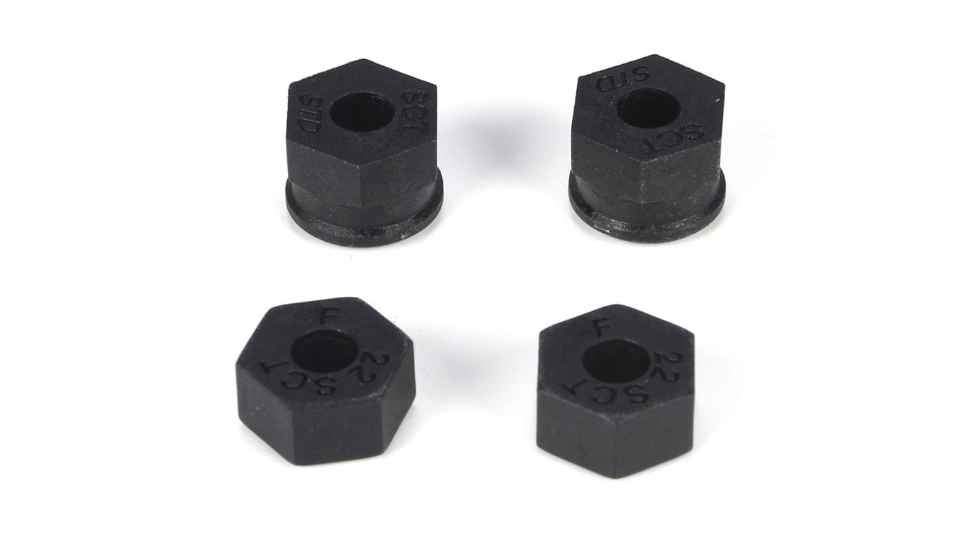 Image for Front/Rear Wheel Hex: 22SCT from HorizonHobby