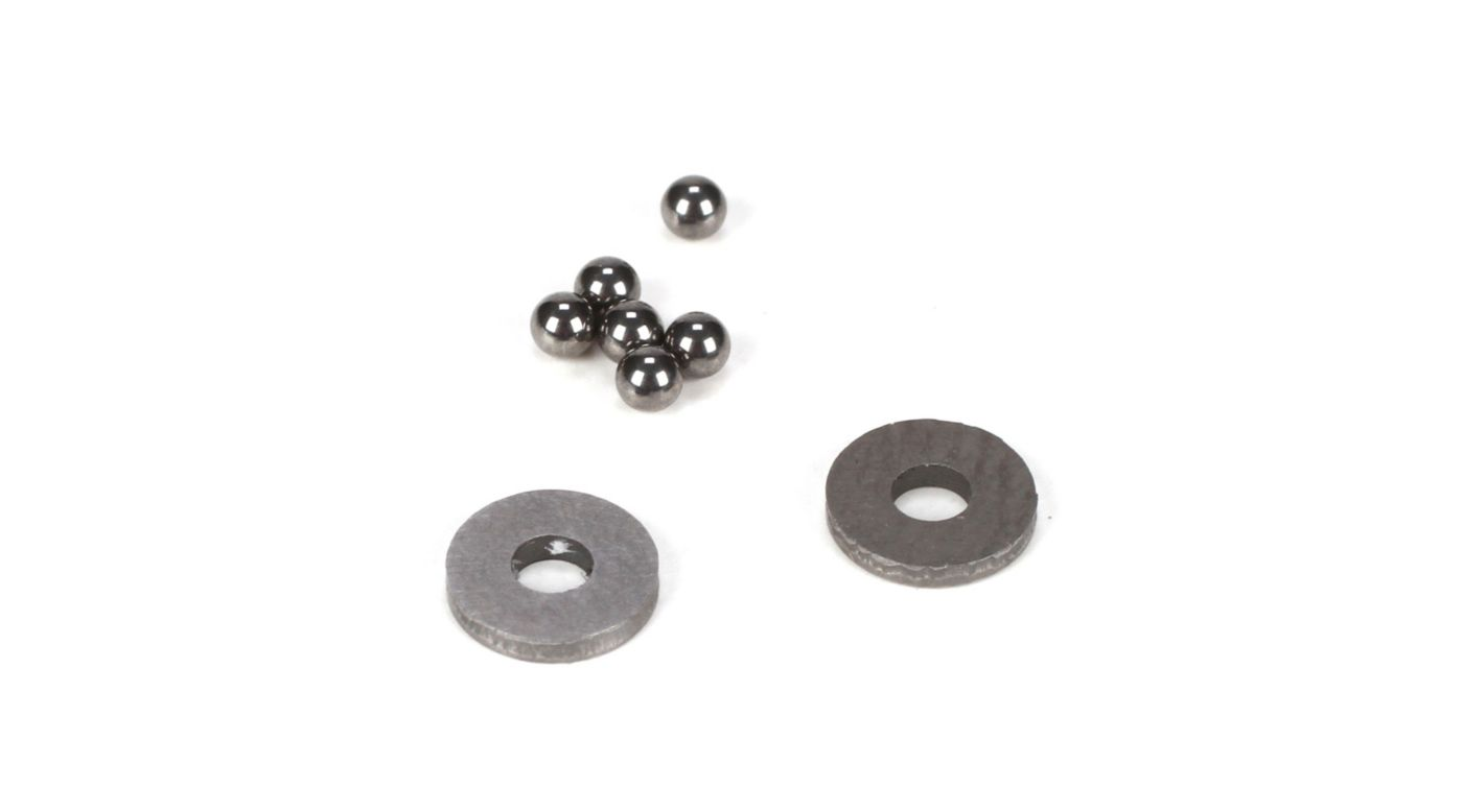 Image for Tungsten Carbide Diff Balls, 2mm (6) from HorizonHobby