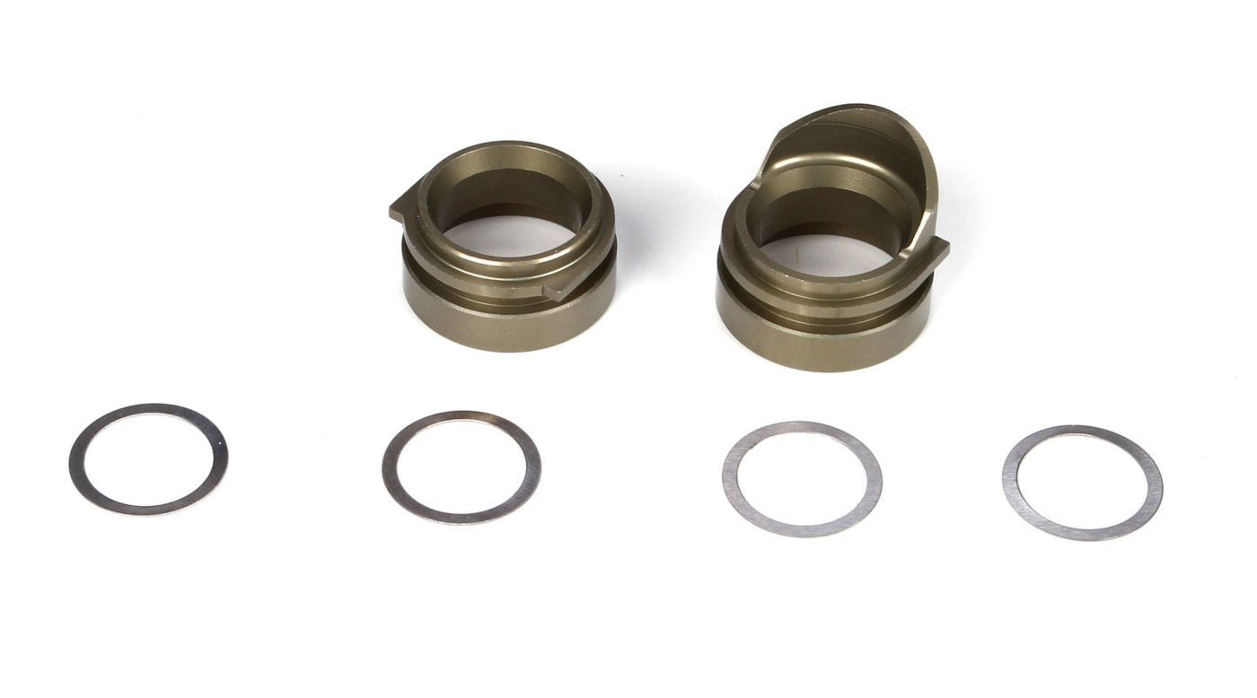 Image for Rear Gearbox Bearing Inserts, Alum (2): TEN from HorizonHobby