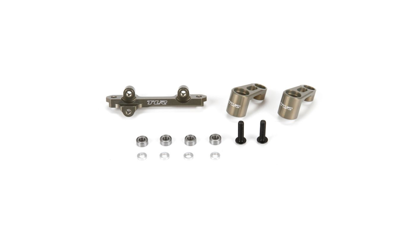 Image for Bellcranks and Drag Link, Aluminum: 22/T/SCT 2.0 from HorizonHobby