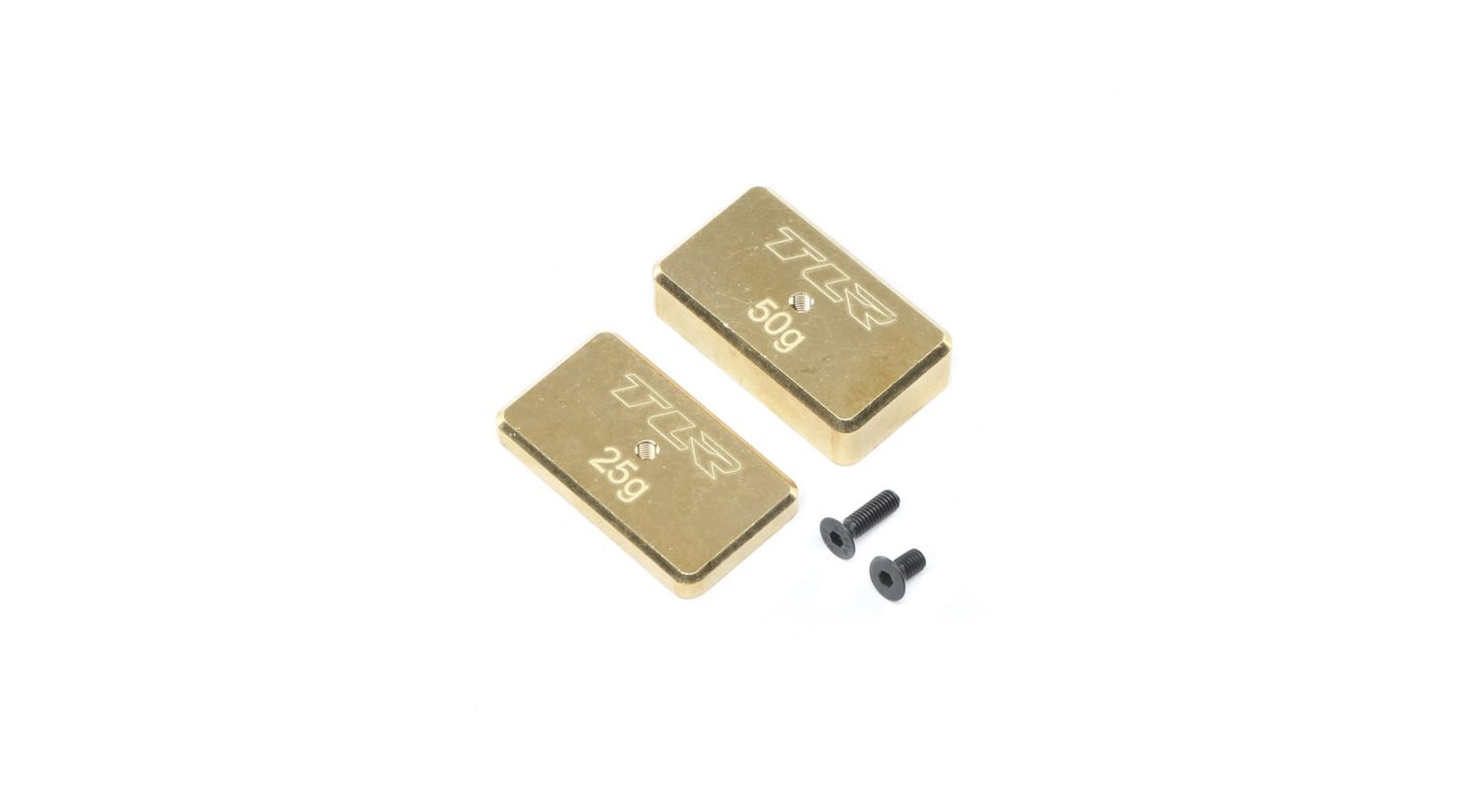 Image for Rear Brass Plate Set: 22 4.0 from HorizonHobby
