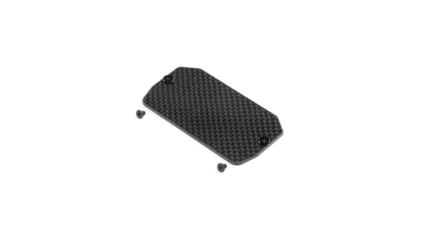 Image for Carbon Electronics Mounting Plate: 22 5.0 from Horizon Hobby