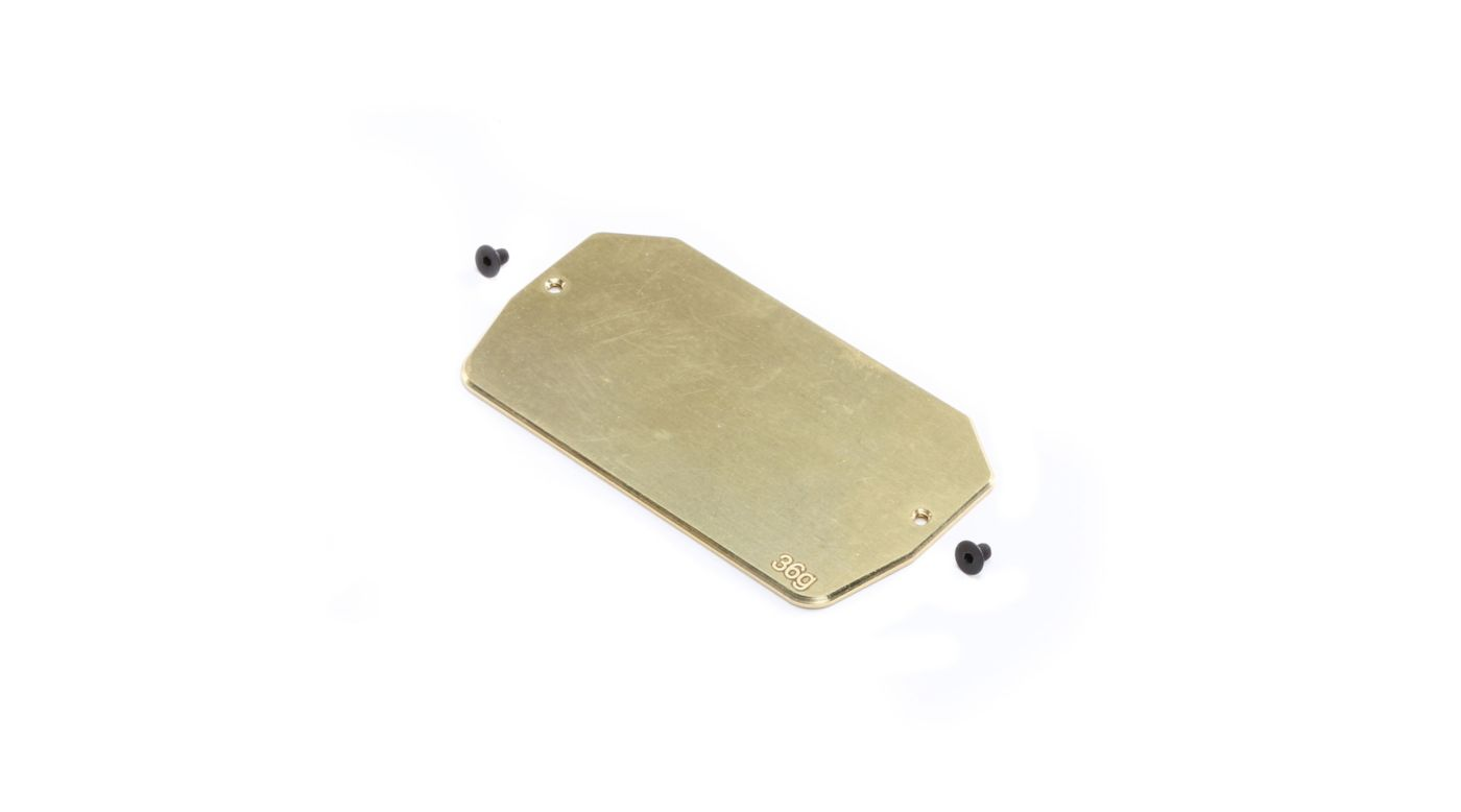 Image for Brass Electronics Mounting Plate, 34g: 22 5.0 from HorizonHobby