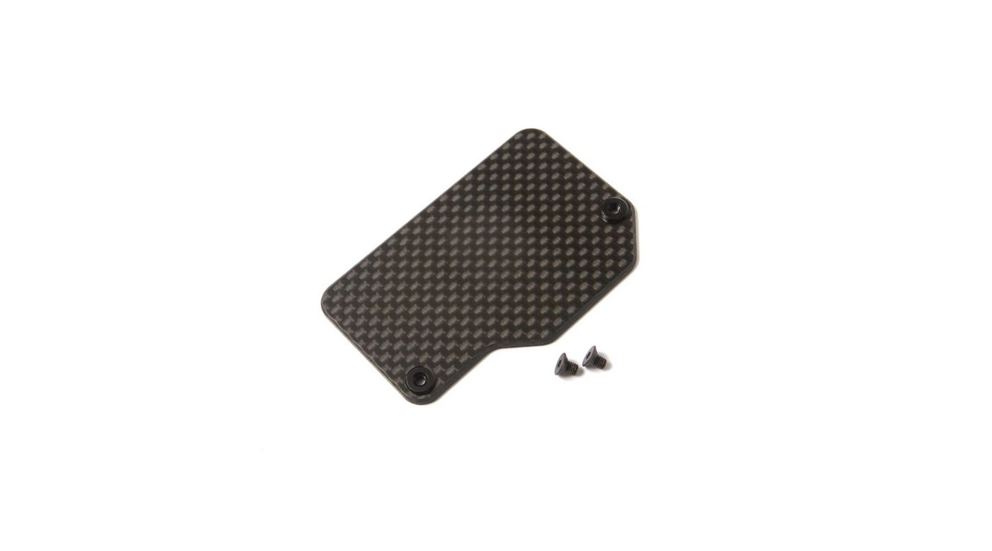Image for Carbon Electronics Mounting Plate: 22X-4 from HorizonHobby