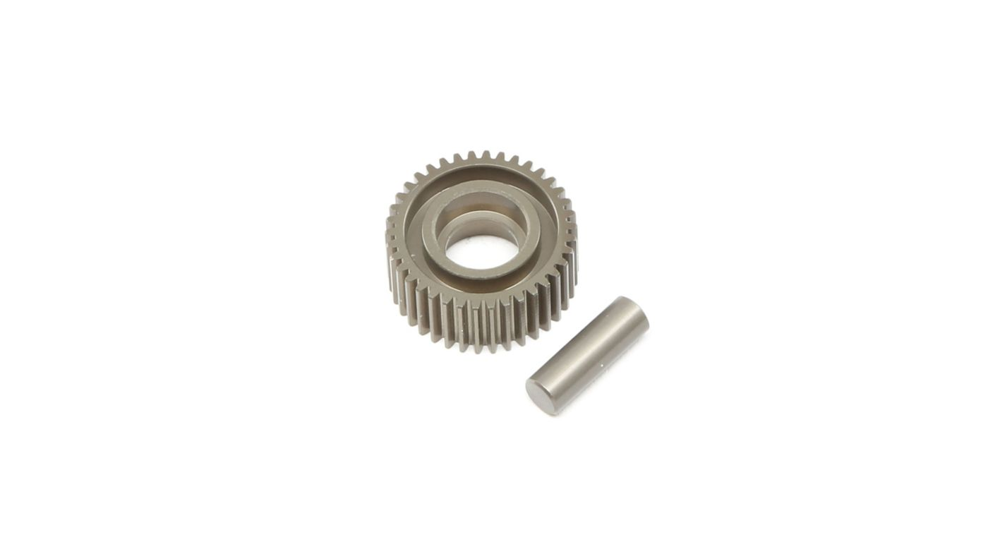Image for Aluminum Idler Gear & Shaft Laydown  22 4.0 from HorizonHobby