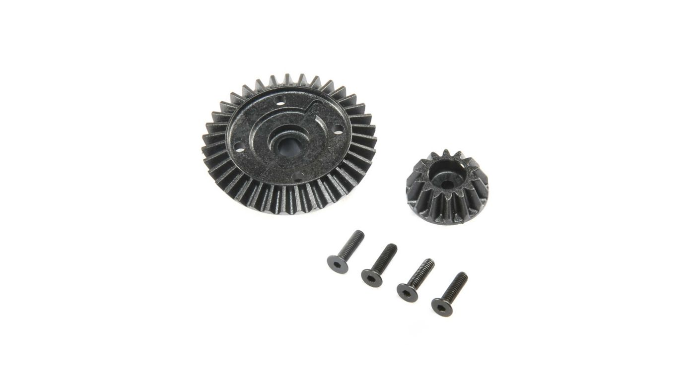 Image for Ring and Pinion Set Composite: 22X-4 from HorizonHobby