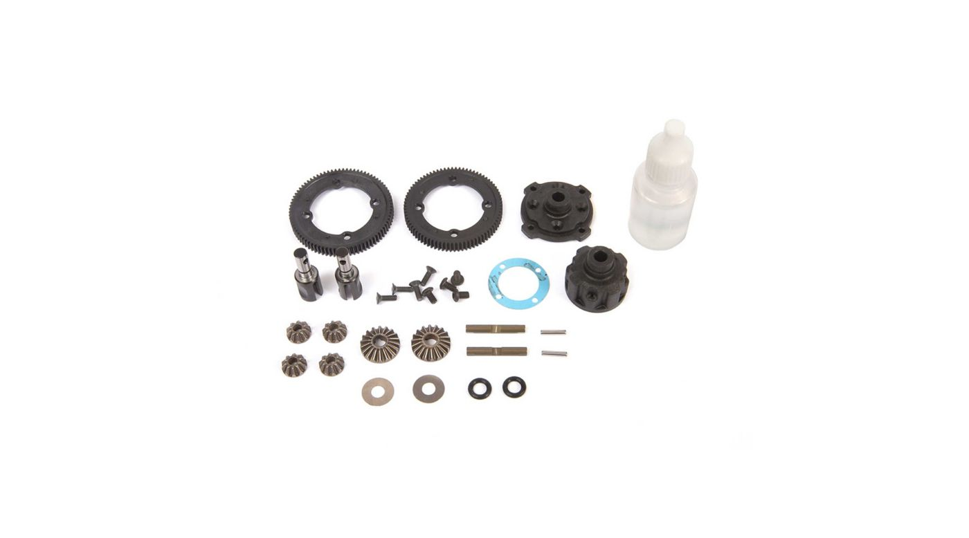 Image for Center Diff Complete Metal: 22X-4 from HorizonHobby