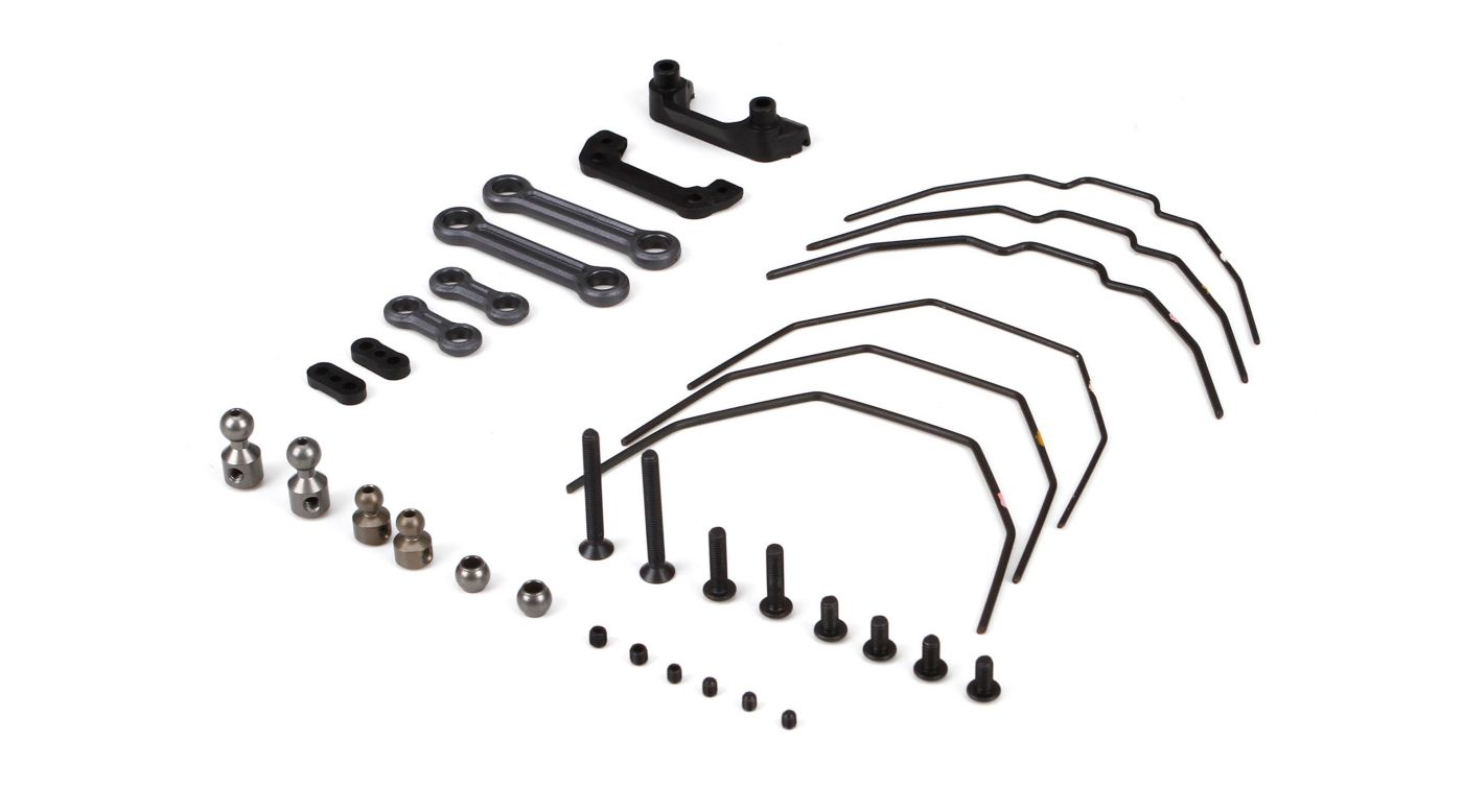 Image for Sway Bar Kit, Front and Rear: 22-4 from HorizonHobby