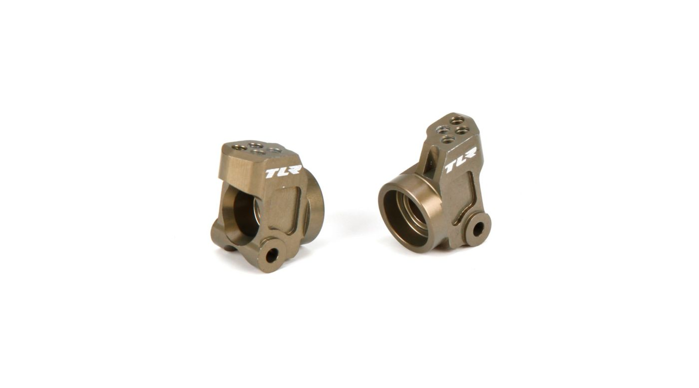 Image for Rear Hub Carrier, Aluminum: 22/T/SCT from HorizonHobby