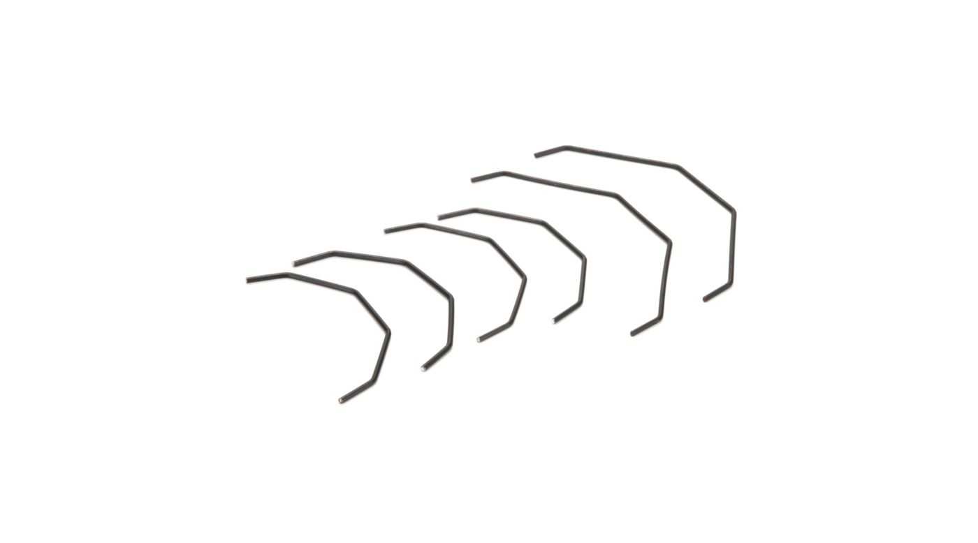 Image for Sway Bar Set, Thick, Front/Rear: SCTE/2.0 from HorizonHobby
