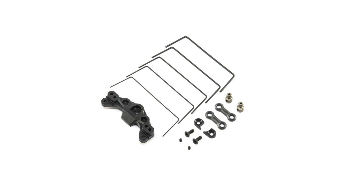 Image for Front Sway Bar Set: 22 4.0 from HorizonHobby