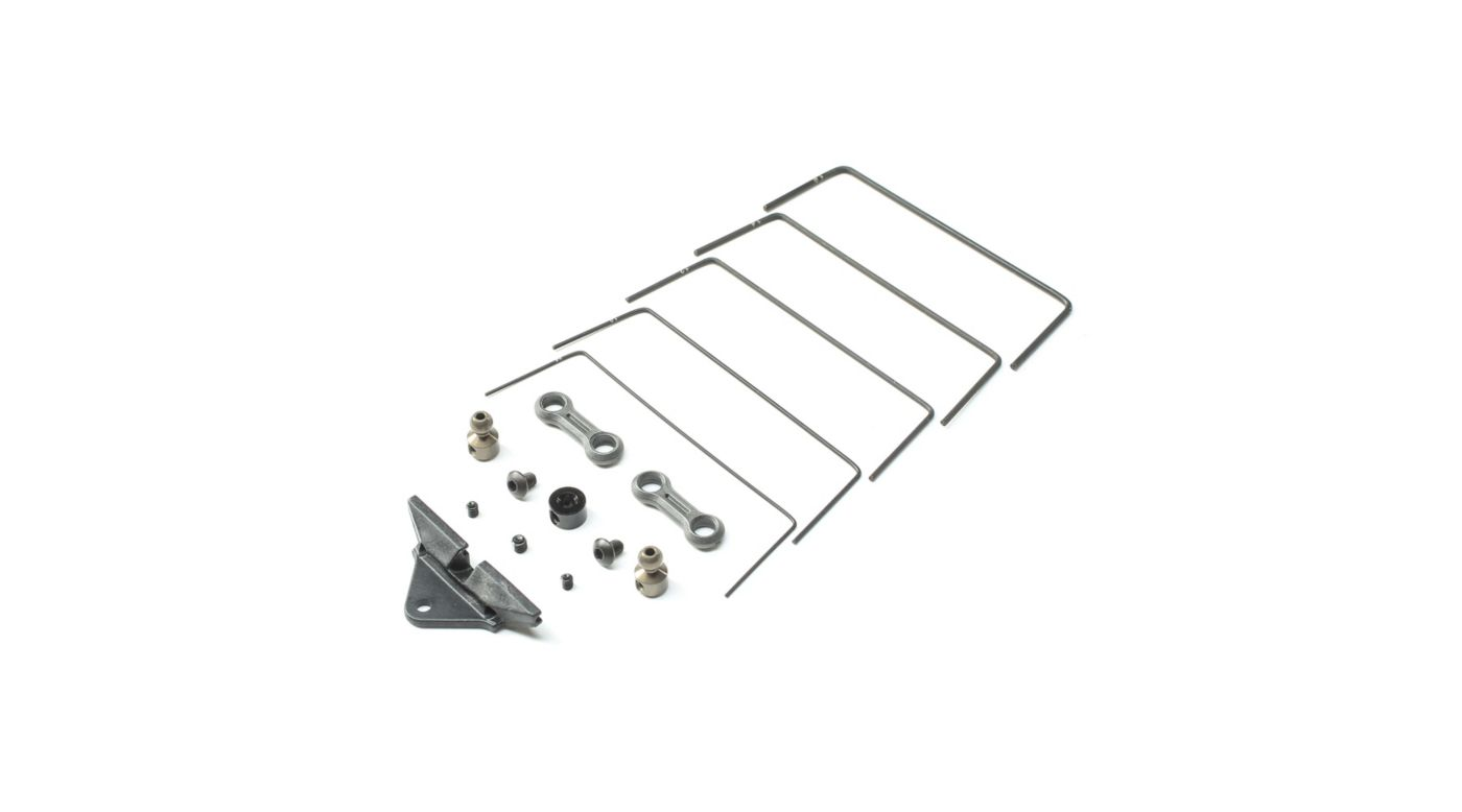 Image for Front Sway Bar Set: 22 5.0 from Horizon Hobby